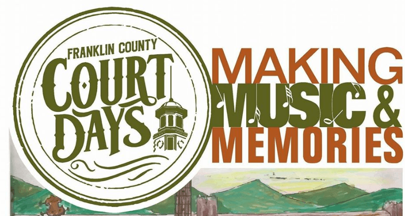 Franklin County Court Days Banner